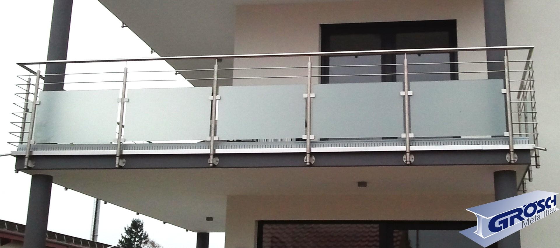 Wunderschönen Geländer Sichtschutz